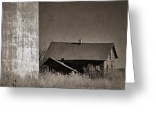 Homestead On The Hill Greeting Card