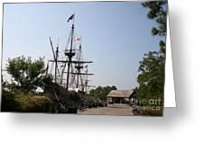 Homesteaders Ships Greeting Card
