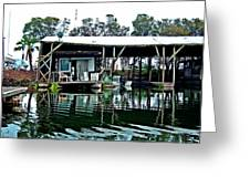 Homesteading On The Delta Greeting Card
