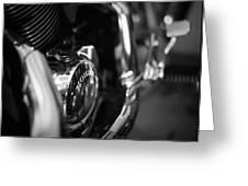 Honda Chrome Greeting Card
