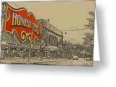Honest Eds On Markham Street Greeting Card