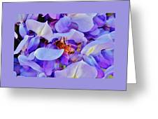 Honey Bee Cling Greeting Card