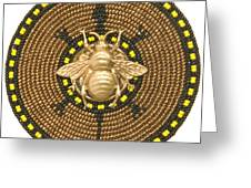Honey Bee Turtle Greeting Card