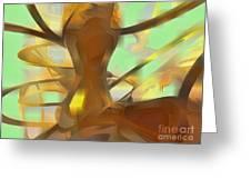 Honey Pastel Abstract Greeting Card