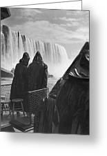Honeymooners At Niagara Falls Greeting Card