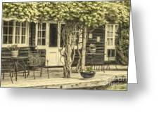 Honeysuckle Cottage Greeting Card