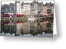 Honfleur Greeting Card by Giorgio Darrigo