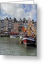 Honfleur Holiday Greeting Card