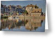 Honfleur In Normandy France Greeting Card