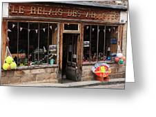 Honfleur Shop Front Greeting Card