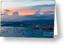 Hong Kong 02 Greeting Card