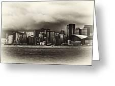 Hong Kong Bay Greeting Card