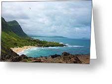 Honolulu Hi 10 Greeting Card