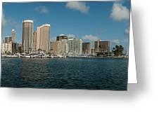 Honolulu Hi Greeting Card