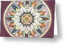 Honor Mandala Greeting Card