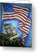 Honor Our Troops Greeting Card
