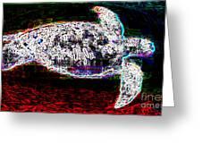 Honu Turtle Spirit Greeting Card