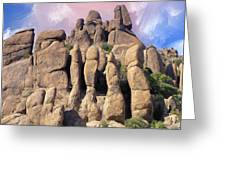 Hoodoo In The Superstition Mountains Greeting Card