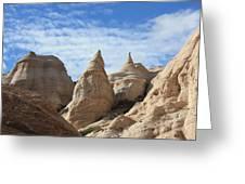 Hoodoo Sky - Tent Rocks - Pajarito Plateau - New Mexico Greeting Card  sc 1 st  Fine Art America & Hoodoo Sky - Tent Rocks - Pajarito Plateau - New Mexico Photograph ...