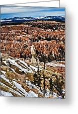Hoodoos At Bryce Greeting Card