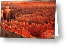 Hoodoos Basin Greeting Card by Robert Bales