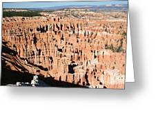 Hoodoos Of Bryce Canyon  Greeting Card