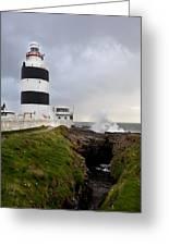 Hook Head Lighthouse Greeting Card