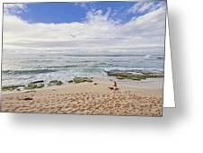 Ho'okipa Beach Park 9 Greeting Card