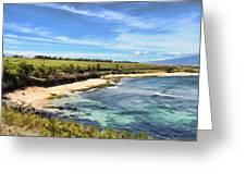 Ho'okipa Beach Park - Maui Greeting Card