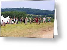 Hoop Camp Rw2k14 Greeting Card