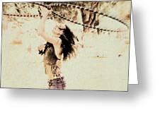 Hoop Dancer  Greeting Card