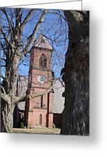 Hoosick Falls Brick Church Greeting Card
