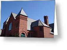 Hoosick Falls Church Greeting Card