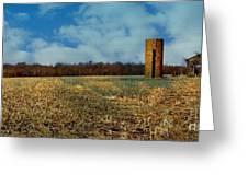 Hoosier Farm Greeting Card