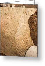 Hoover Dam 589ft Greeting Card