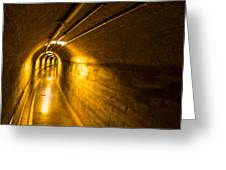 Hoover Dam Tunnel 2 Greeting Card
