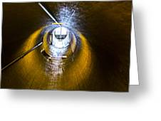 Hoover Dam Ventilation Tunnel Greeting Card