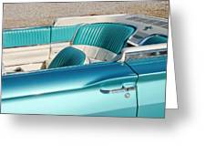 Hop Into The T-bird Convertible Greeting Card