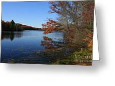 Hopeville Autumn Reflections     Greeting Card
