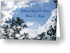 Hope Greeting Card by Aimee L Maher Photography and Art Visit ALMGallerydotcom