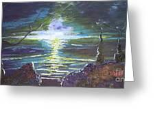 Hope In The Gloom Greeting Card