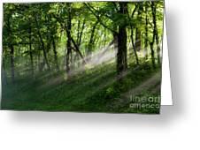 Hope Lights Eternal - Blue Ridge Parkway I Greeting Card