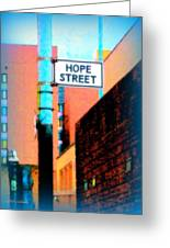 Hope Street Greeting Card