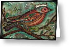 Hope Will Fly Greeting Card