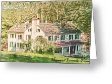 Hopewell Furnace In Pennsylvania Greeting Card