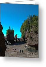 Hopewell Rocks2 Greeting Card