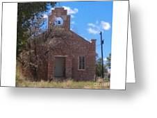 Hopi Church Greeting Card