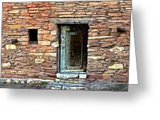 Hopi House Back Entrance Greeting Card