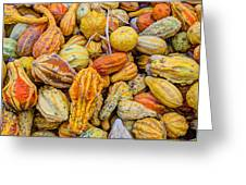 Hordes Of Gourds Greeting Card