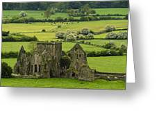 Hore Abbey Ireland Greeting Card by Dick Wood